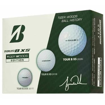 Bridgestone 21 Tour B XS Tiger Ball Dozen White