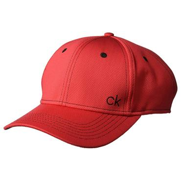 Calvin Klein Golf Tech Baseball Cap  Red