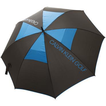 Calvin Klein Stormproof Vented Umbrella Black - Royal