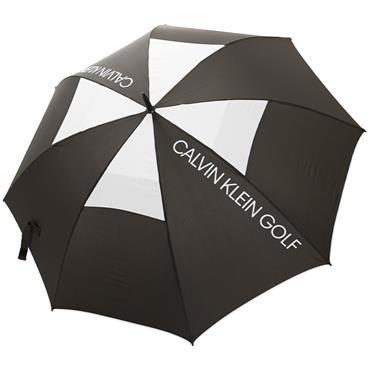 Calvin Klein Golf Stormproof Vented Umbrella  Black - White