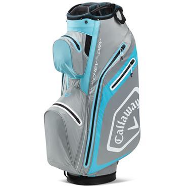 Callaway Chev Dry 14 Cart Bag  Silver/Blue