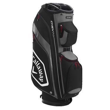 Callaway Chev 14+ Cart Bag  Black/Charcoal