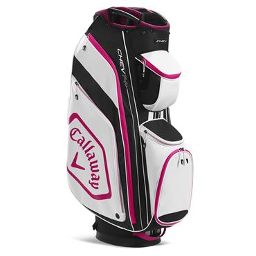 Callaway Chev 14+ Cart Bag  Black - Pink