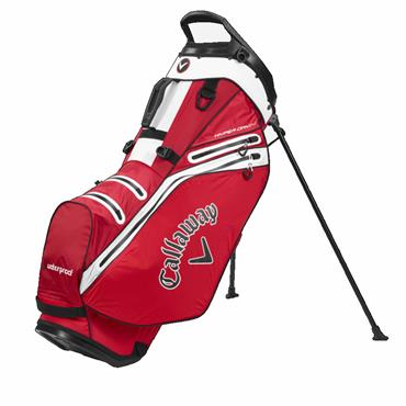 Callaway Hyper Dry 14 Stand Bag  Red/White