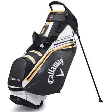 Callaway Hyper Dry 14 Stand Bag  BLACK WHITE ORANGE