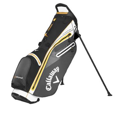 Callaway Hyper Dry C Stand Bag  BLACK WHITE ORANGE