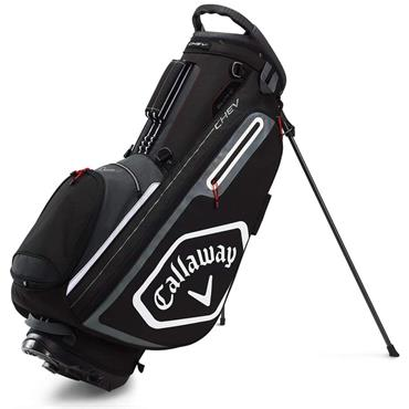 Callaway Chev Stand Bag  Black Charcoal White