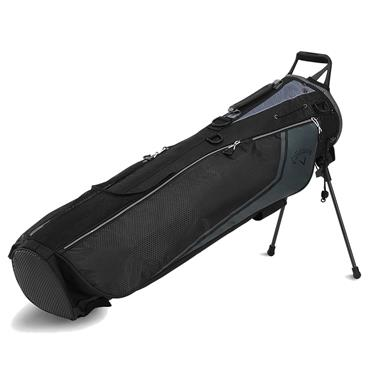 Callaway Carry+ Stand Bag  Black/Charcoal