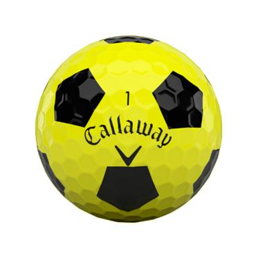 Callaway Chrome Soft Truvis Balls  Yellow/Black