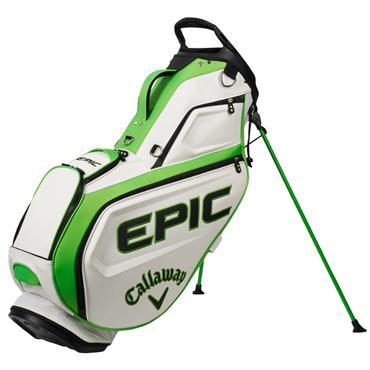Callaway Epic Staff Tour Stand Bag  White Green Black