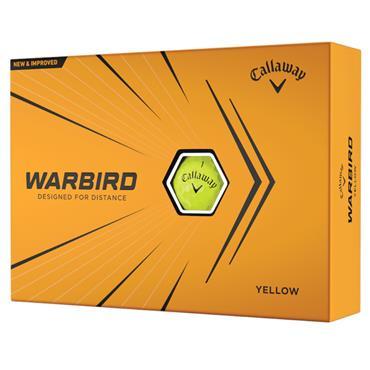 Callaway Warbird 21 Golf Ball Dozens  Yellow