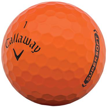 Callaway Supersoft 21 Golf Ball Dozens  Orange