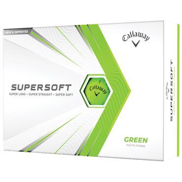 Callaway Supersoft 21 Golf Ball Dozens  Green