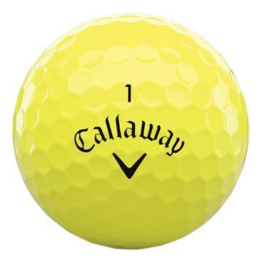 Callaway Supersoft MAX 21 Golf Ball Dozens  Yellow
