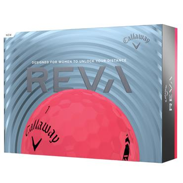 Callaway Reva 21 Golf Ball Dozens  Pink