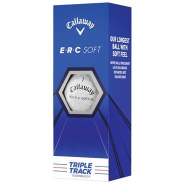 Callaway ERC Soft 21 Triple Track Golf Ball Dozen  White
