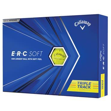 Callaway ERC Soft 21 Triple Track Golf Ball Dozen  Yellow