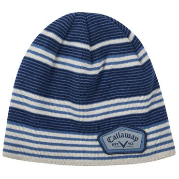 Callaway Gents Winter Chill Beanie  Blue Silver Navy
