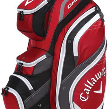 Callaway Call Org 14 Cart Bag  Red/Charcoal/Black