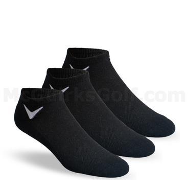 Callaway Gents 3-Pairs Sport Low Cut Socks  Black