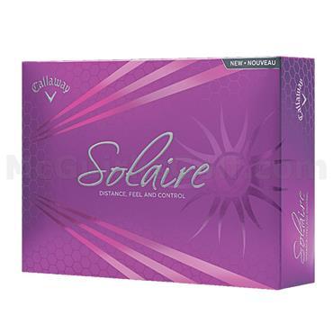 Callaway Solaire Ladies Golf Balls Dozen  White