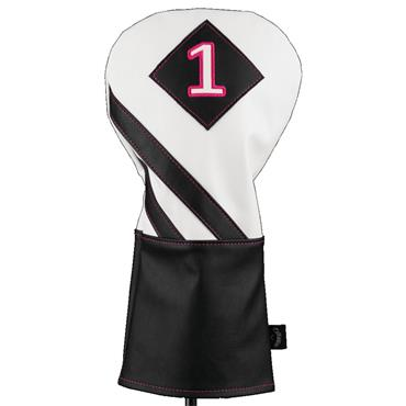 Callaway Vintage Driver Headcover  Black - White