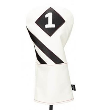 Callaway Vintage Driver Headcover  White/Black