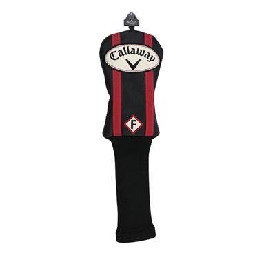 Callaway Vintage Fairway Wood Headcover  Black/Red