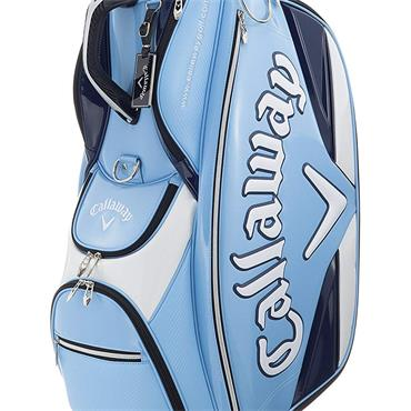 Callaway Glaze 17 Cart Bag  Light Blue Navy
