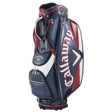 Callaway Glaze Cart Bag  Navy/Red