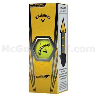 Callaway Warbird Golf Balls Dozen  Yellow