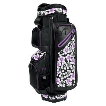 Callaway Ladies Org 14 UpTown Cart Bag  Black Purple