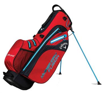 Callaway Hyper Dry Fusion Stand Bag  Red/Black/Blue