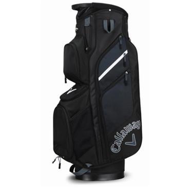 Callaway Chev Org 2018 Cart Bag  Black/Titanium/White