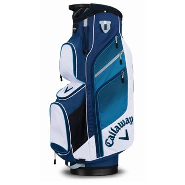 Callaway Chev Org Cart Bag White - Blue - Navy
