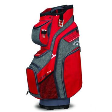 Callaway Org 14 Cart Bag Red - Titanium - White
