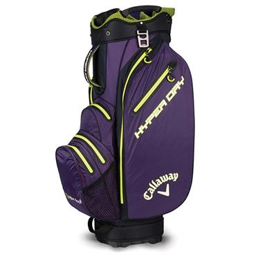 Callaway Hyper Dry Cart Bag Purple - Neon Green - White