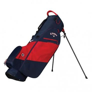Callaway Hyper Lite Zero Stand Bag  Navy/Red/White