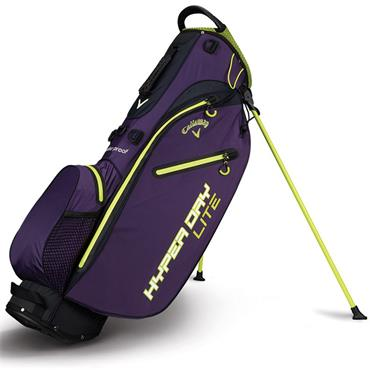Callaway Hyper Dri Lite Stand Bag  Purple/Green/White