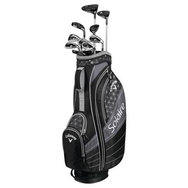 Callaway Solaire 11-Peace Set Ladies RH Set Black