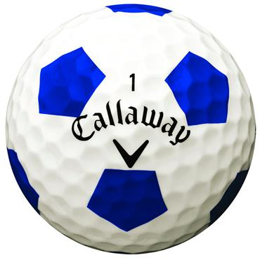 Callaway Chrome Soft Truvis Golf Balls Dozen White Truvis Blue