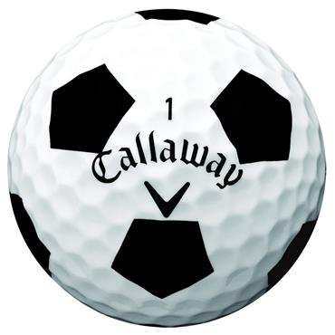 Callaway Chrome Soft Truvis Golf Balls Dozen White Truvis Black