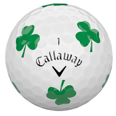 Callaway Chrome Soft Truvis Golf Balls Dozen White Truvis Shamrock