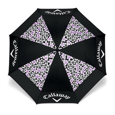 "Callaway 60"" Ladies Umbrella UpTown Black - Purple"