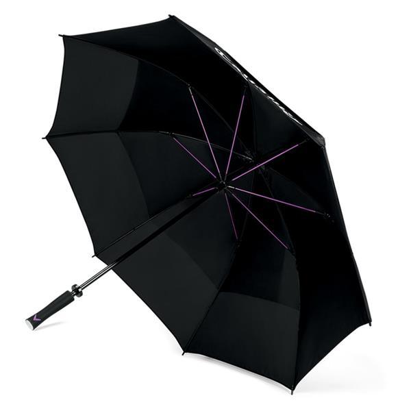 Callaway Uptown 60 Quot Double Canopy Ladies Umbrella Black