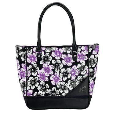 Callaway 18 Uptown Tote Floral  Black/Purple