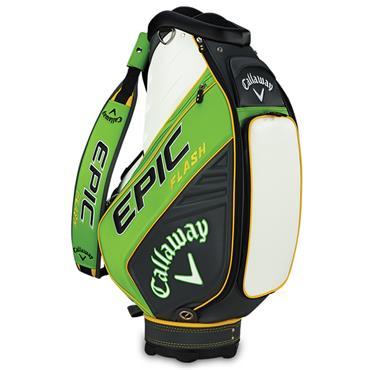 Callaway Epic Flash Staff Cart Bag  Green/Charcoal/White