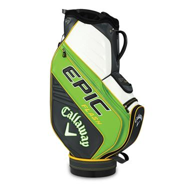 Callaway Epic Flash Staff Trolley Bag  Green/Charcoal/White