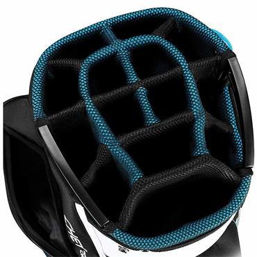 Callaway Chev Org 19 Cart Bag  Black/Blue/White