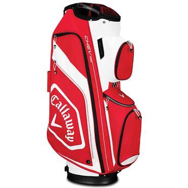 Callaway Chev Org 19 Cart Bag  Red/White/Black